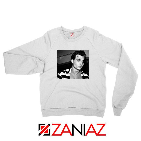Young Johnny Depp Sweatshirt