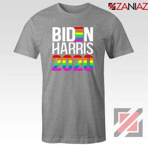 Biden Haris 2020 Rainbow Sport Grey Tshirt