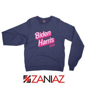 Biden Harris 90s Vintage Navy Blue Sweatshirt
