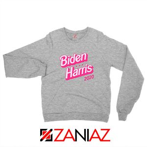Biden Harris 90s Vintage Sport Grey Sweatshirt