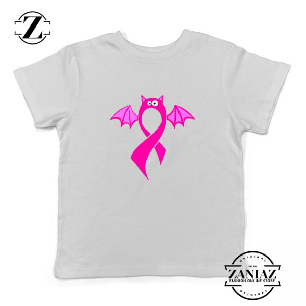 Breast Cancer Awareness Kids White Tshirt