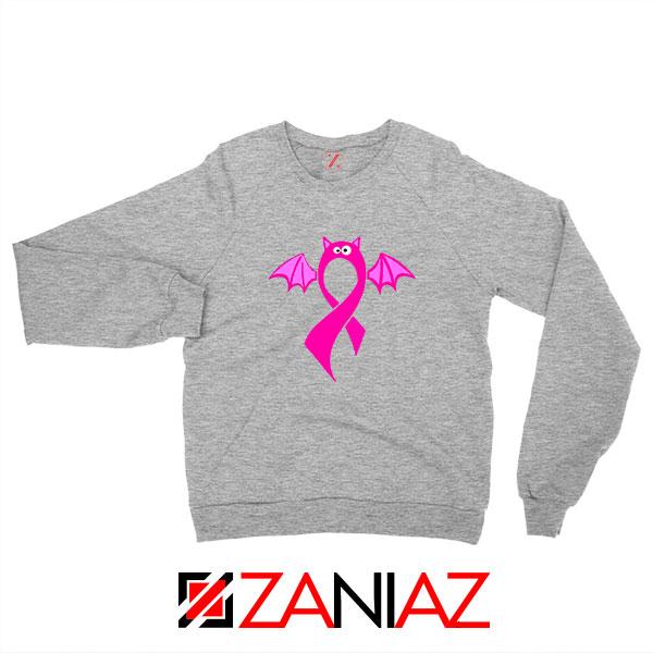 Breast Cancer Awareness Sport Grey Sweatshirt