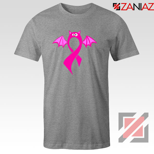 Breast Cancer Awareness Sport Grey Tshirt