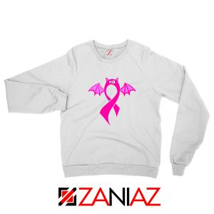 Breast Cancer Awareness White Sweatshirt