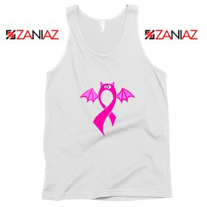 Breast Cancer Awareness White Tank Top
