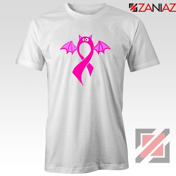 Breast Cancer Awareness White Tshirt