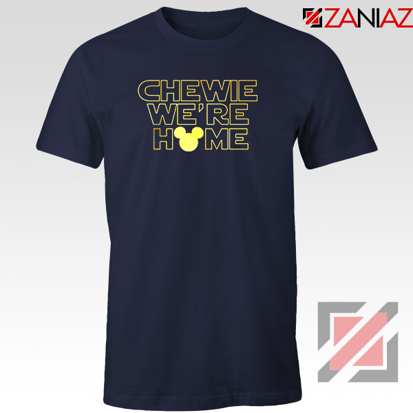 Chewie We Are Home Navy Blue Tshirt