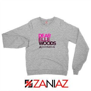 Dear Elle Woods Sport Grey Sweatshirt