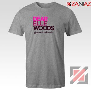 Dear Elle Woods Sport Grey Tshirt