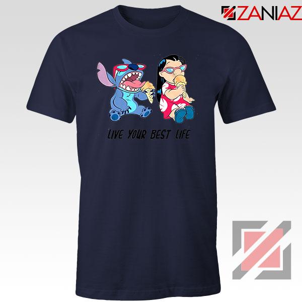 Disney Lilo and Stitch Navy Blue Tshirt