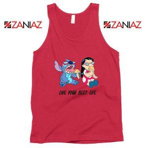 Disney Lilo and Stitch Red Tank Top