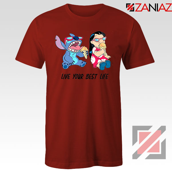 Disney Lilo and Stitch Red Tshirt