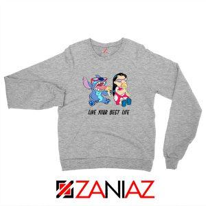 Disney Lilo and Stitch Sport Grey Sweatshirt