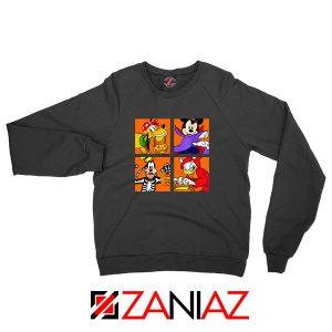 Disney Surprise Halloween Black Sweatshirt