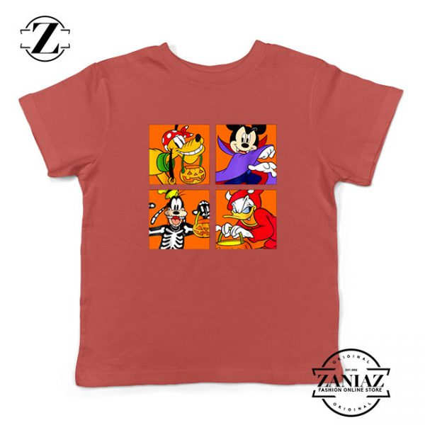 Disney Surprise Halloween Red Kids Tshirt