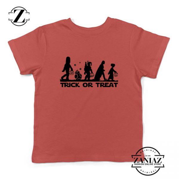 Disney Trick or Treating Red Kids Tshirt