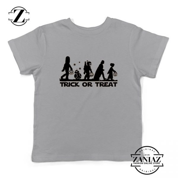 Disney Trick or Treating Sport Grey Kids Tshirt