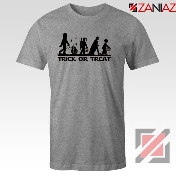 Disney Trick or Treating Sport Grey Tshirt