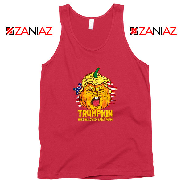 Donald Trumpkin Red Tank Top