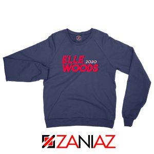 Elle Woods 2020 Navy Blue Sweatshirt