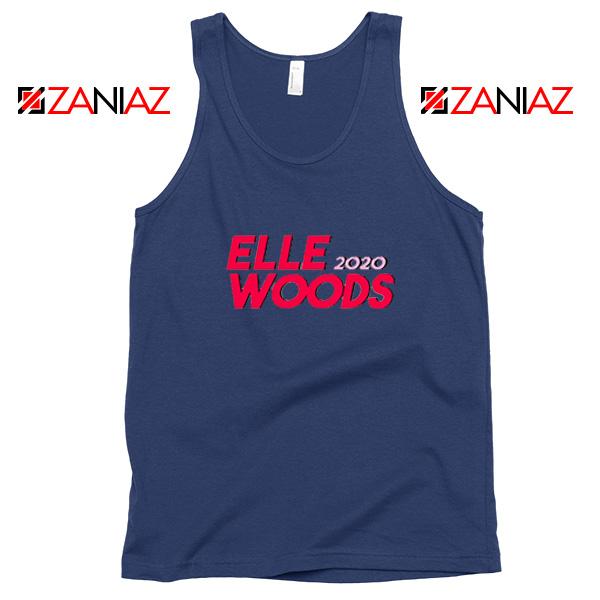 Elle Woods 2020 Navy Blue Tank Top