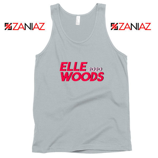 Elle Woods 2020 SPort Grey Tank Top