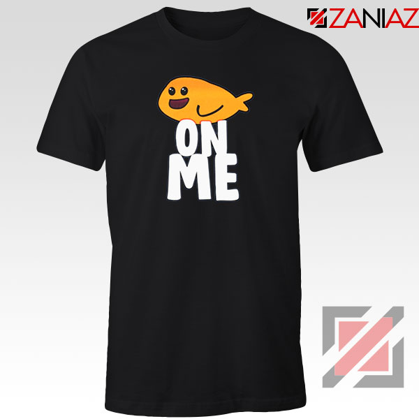 Fishy On Me Black Tshirt