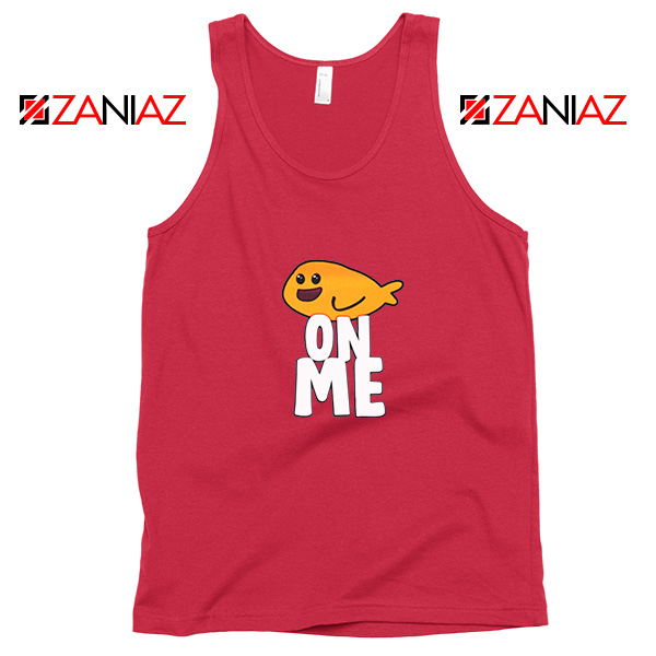 Fishy On Me Red Tank Top