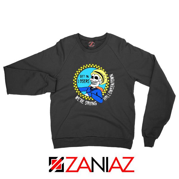 Get In Losers Skull Drive Sweatshirt