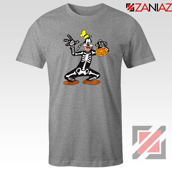Goofy Skeleton Sport Grey Tshirt