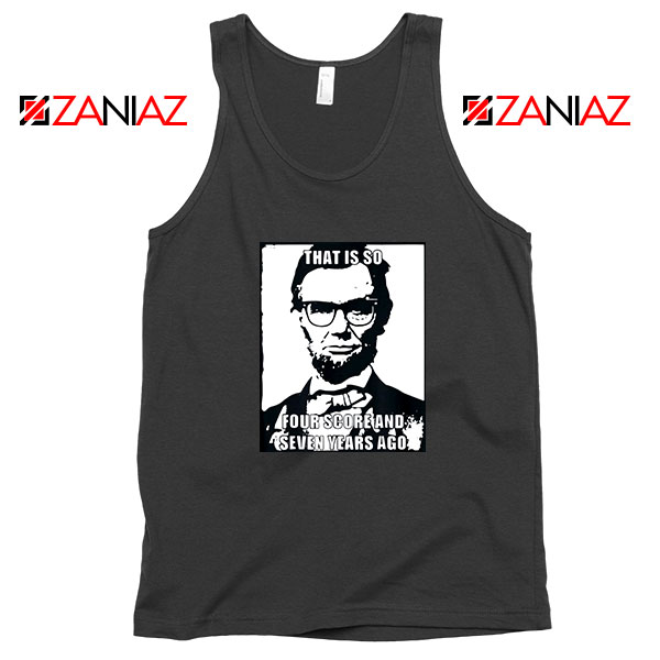 Hipster Abraham Lincoln Tank Top