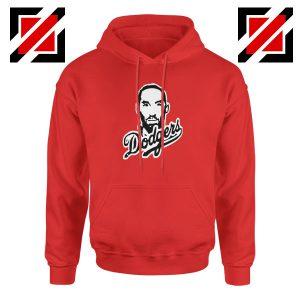Kobe Bryant Dodgers Red Hoodie