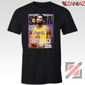 Kobe Slam Magazine Black Tshirt