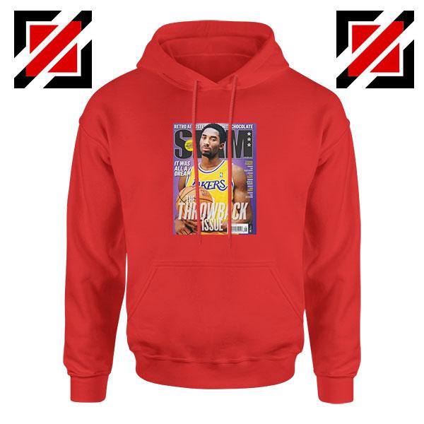 Kobe Slam Magazine Red Hoodie