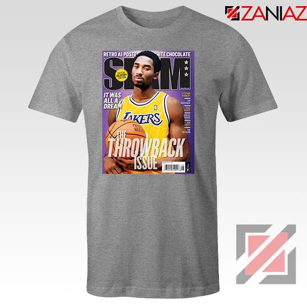 Kobe Slam Magazine Sport Grey Tshirt
