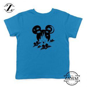 Mickey Bat Kids Blue Tshirt