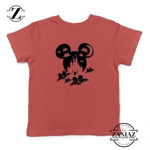 Mickey Bat Kids Red Tshirt