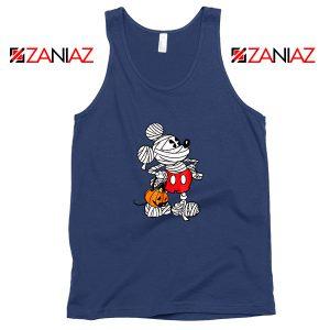 Mickey Mouse Mummy Navy Blue Tank Top