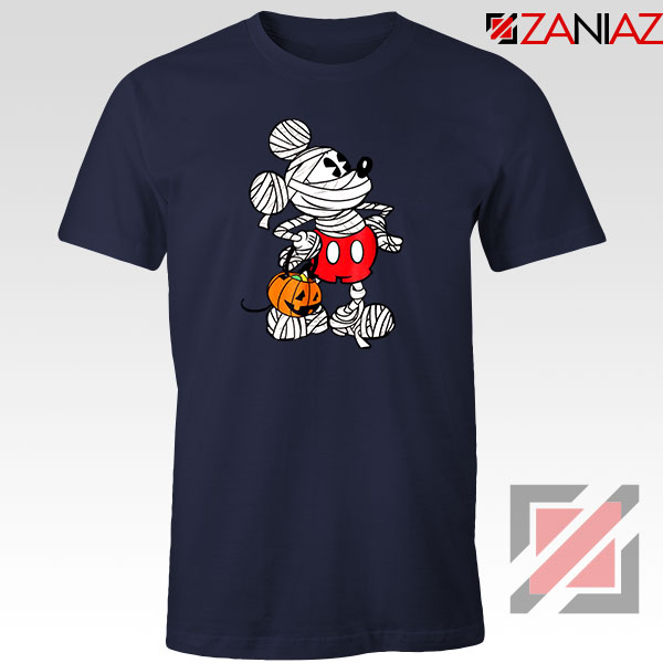 Mickey Mouse Mummy Navy Blue Tshirt