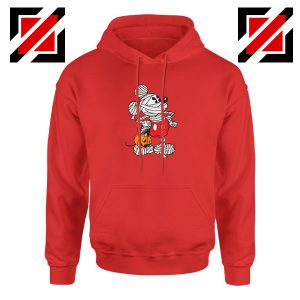Mickey Mouse Mummy Red Hoodie