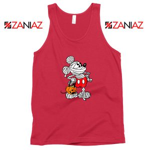 Mickey Mouse Mummy Red Tank Top