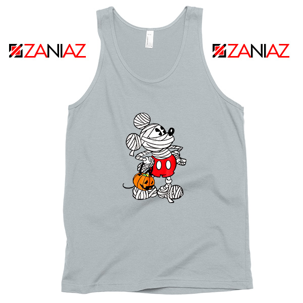 Mickey Mouse Mummy Sport Grey Tank Top