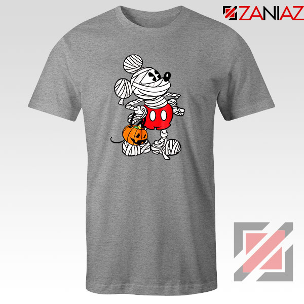 Mickey Mouse Mummy Sport Grey Tshirt