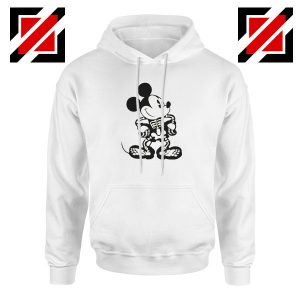 Mickey Mouse Skull Hoodie