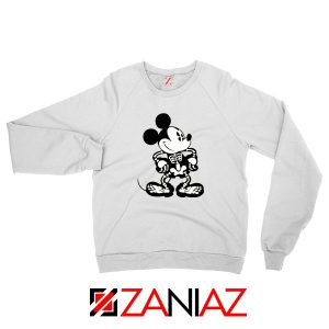 Mickey Mouse Skull Sweatshirt