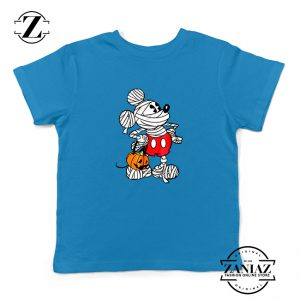 Mickey Mummy Kids Blue Tshirt