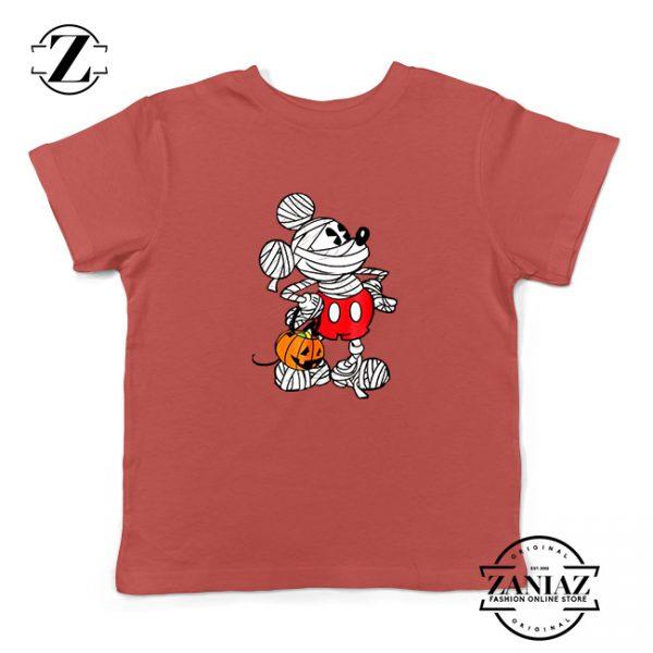 Mickey Mummy Kids Red Tshirt
