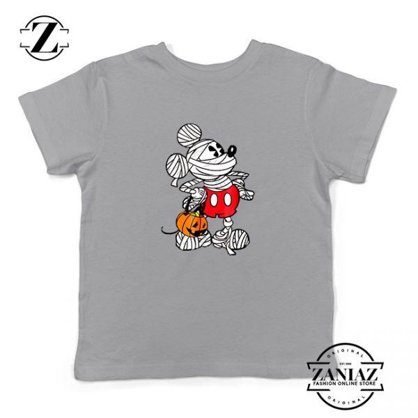 Mickey Mummy Kids Sport Grey Tshirt