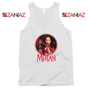 Mulan Portrait Circle Tank Top