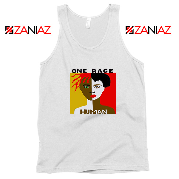 One Race Human Tank Top